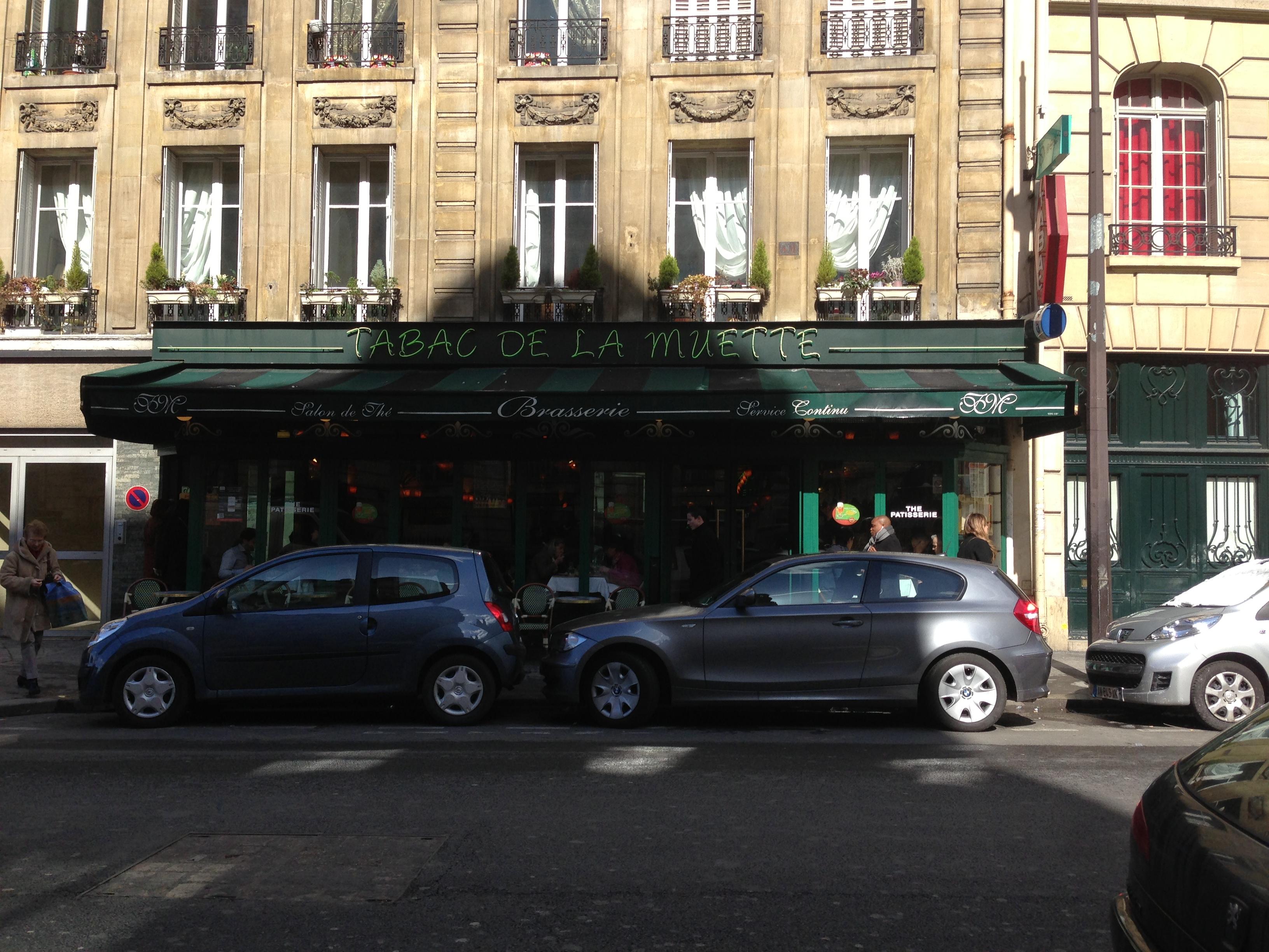 Le tabac de la muette in bistro veritas for Salon du tabac paris